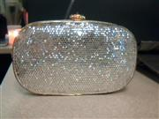 JUDITH LEIBER CRYSTAL EVENING SHOULDER BAG